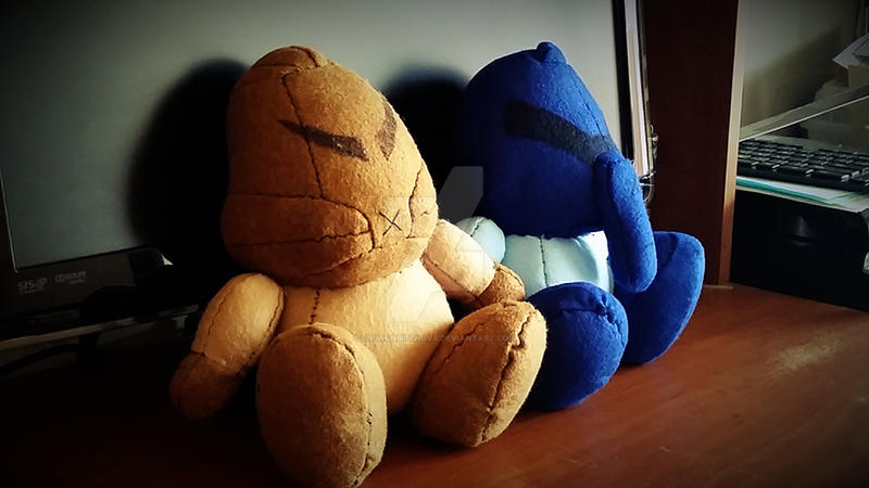 Hewkii and Macku Dolls by CrunchbiteNuva
