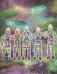 Comic cover - Alien engineers