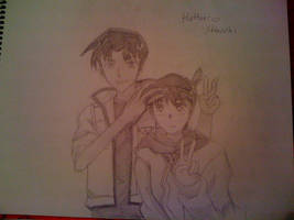 Hattori + Shinichi by destiny989