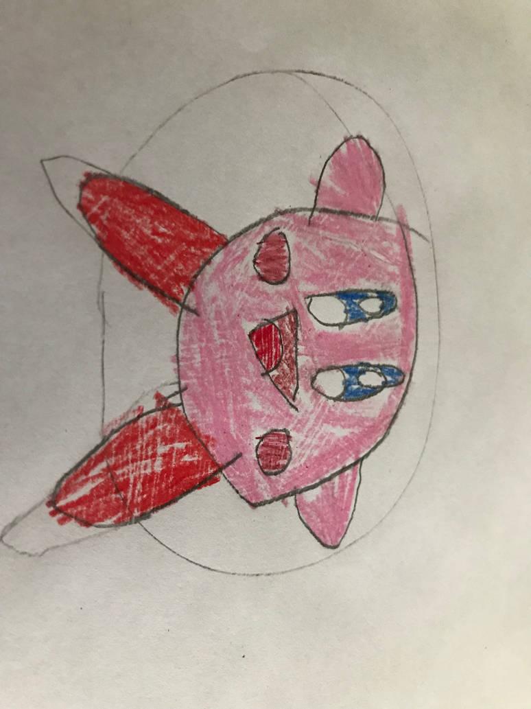 Kirby got maximum pink sideways by DimitriWarchief123