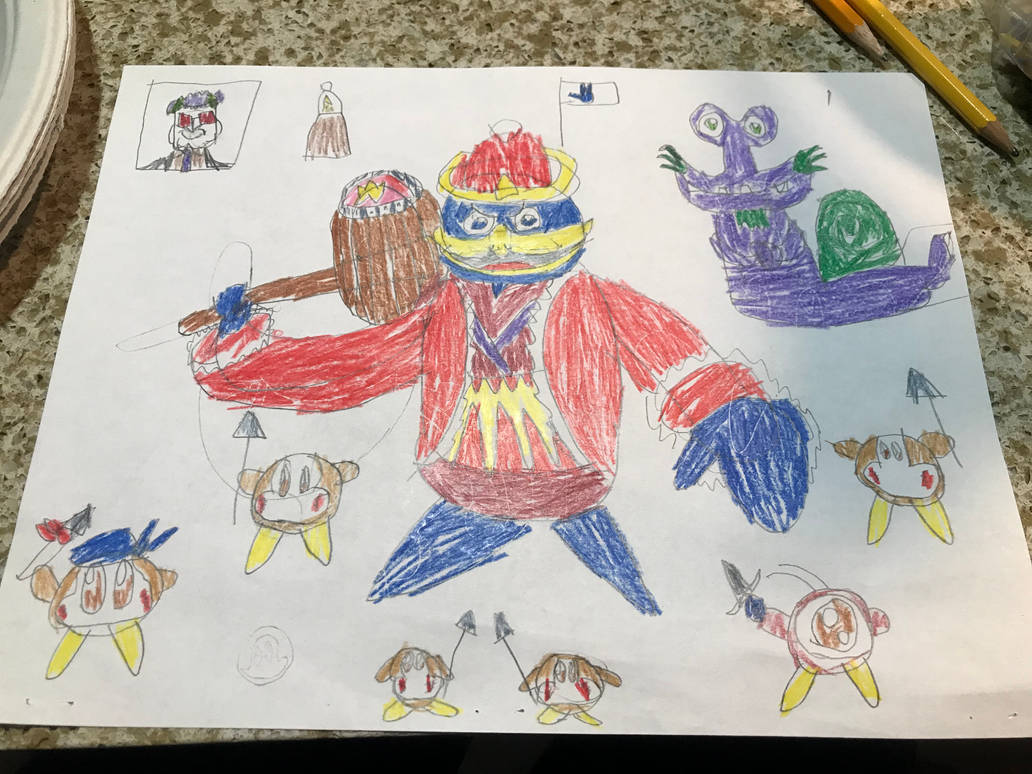 King Dedede, the king of the Waddle Dees by DimitriWarchief123