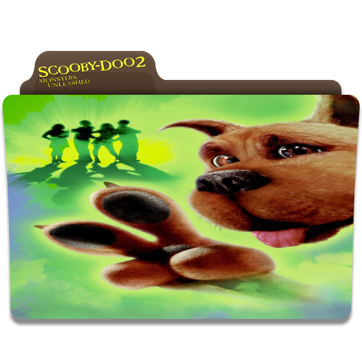 Scooby Doo 2 Monsters Unleashed Movie Folder Icon By Gterritory On Deviantart
