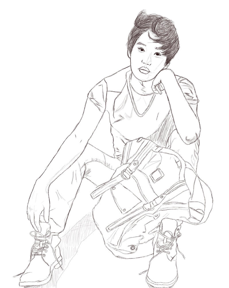 exo coloring pages - exo kai chibi coloring pages coloring pages