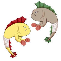 Handfish Fakemon by MaoQiu5115