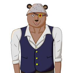 [OP OC] Bear Mink Scientist by MaoQiu5115