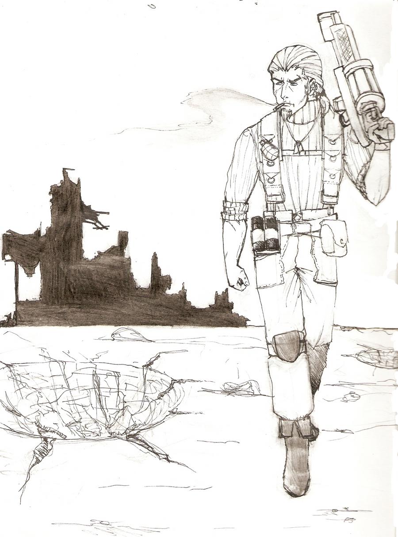 Sketch of Tom by Nauscica