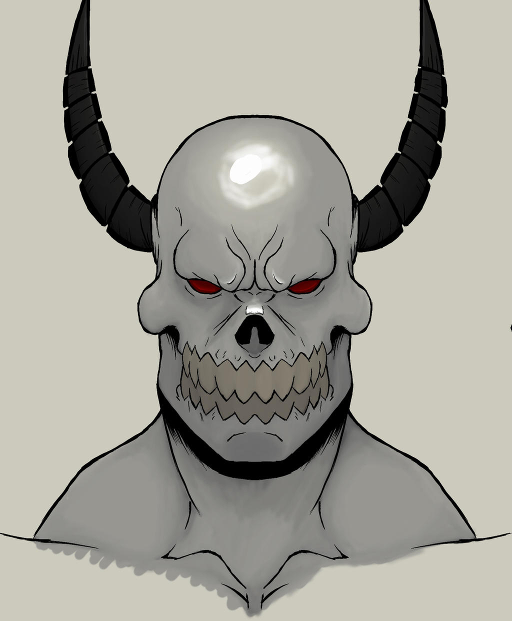 Devil skull wallpaper 2 by devilskull555 on deviantart - Devil skull wallpaper ...