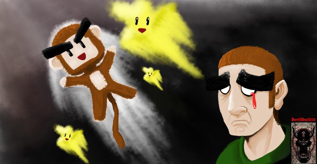 Fly Monkey, Fly monkey. by devilskull555