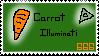 Carrot Illuminati Stamp by xX-Stormy-Xx
