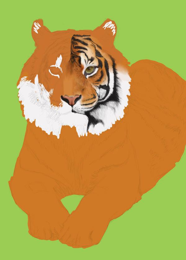 Tiger WIP by Blaze-Karma