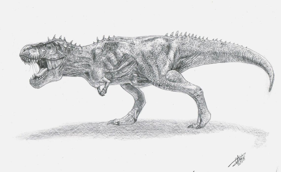Tyrannosaurus Rex by Blaze-Karma