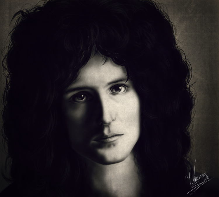 Brian May by VinceSwift