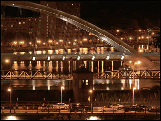 Genesee bridges - Oct 2008 by pearwood