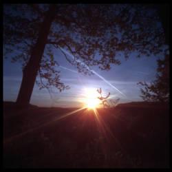 2013-145 Letchworth sunrise - pinhole by pearwood