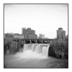 2016-052 Genesee River High Falls in Rochester