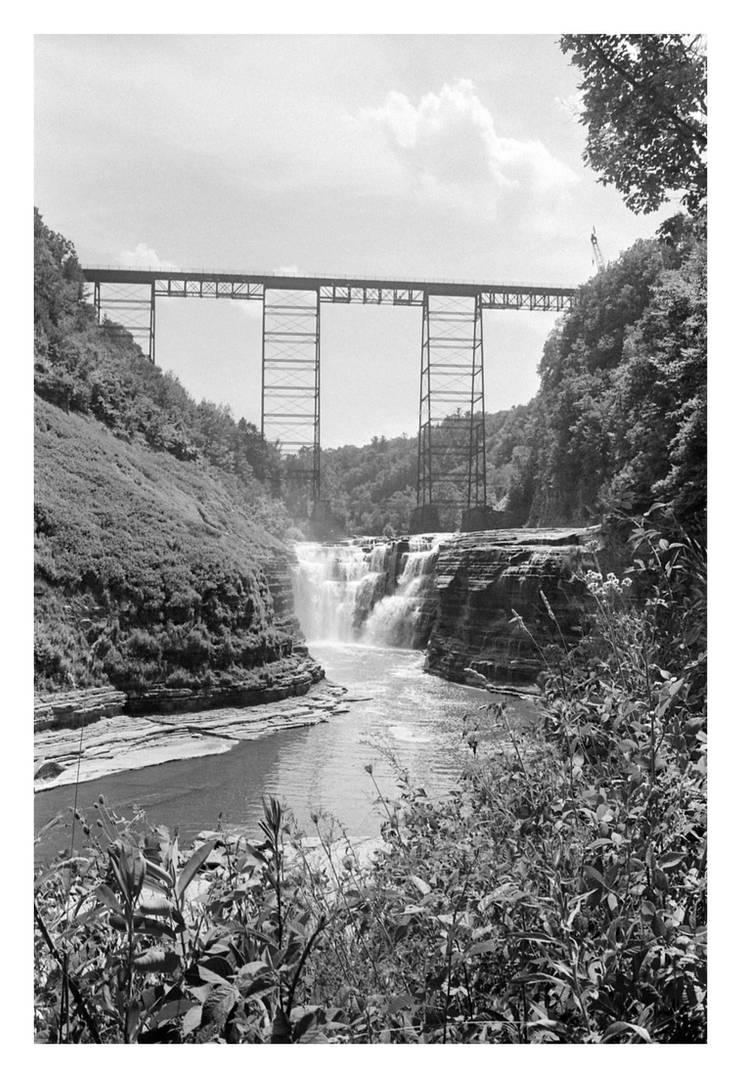 2016-209 Letchworth Upper Falls by pearwood