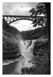 2020-253 Letchworth Upper Falls - V