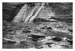 2020-271 Rock and falling water by pearwood