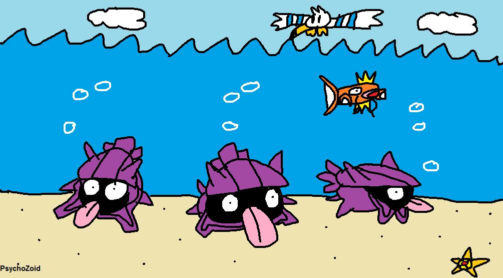Shellder of the Sea by PsychoZoid