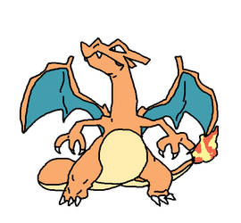 Pokemon A Day 6: Charizard