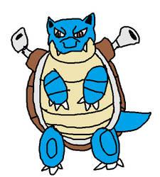 Pokemon A Day 9: Blastoise