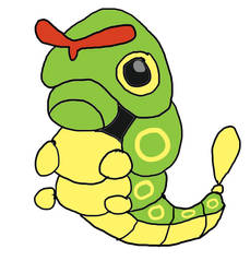 Pokemon A Day 10: Caterpie