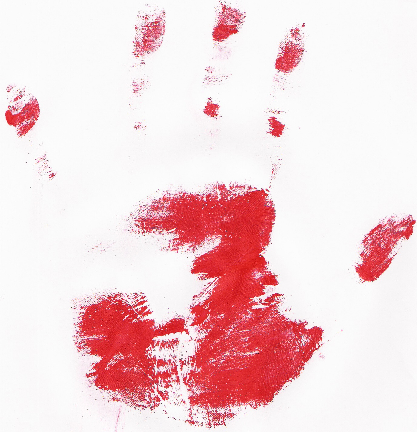 Bloody Handprint by RustyDuck on DeviantArt