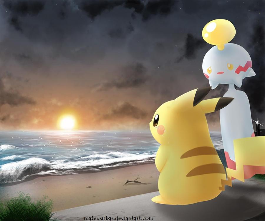 My cute sad Pikachu by mateusribas on DeviantArt