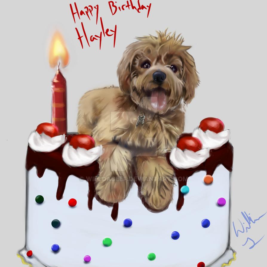Happy Birthday Haley Cake