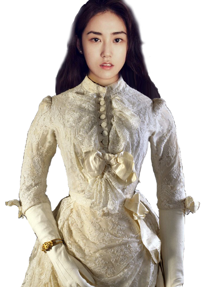 4minute Gayoon in victorian gown by slavgoddess96