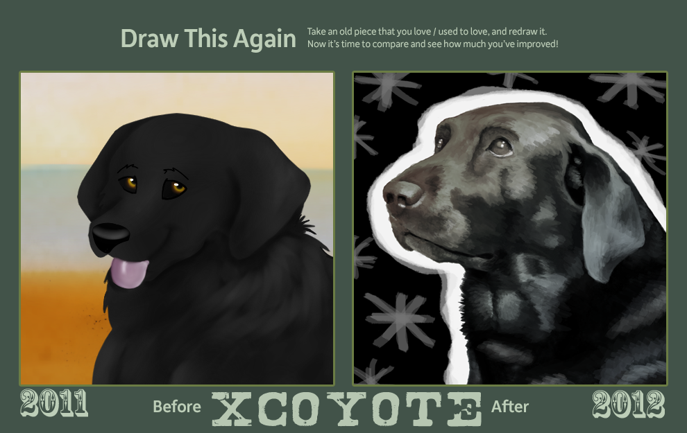 Draw This Again 2012 by xCoyote
