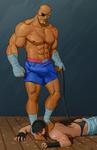 Sagat vs Hot Ryu