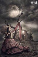 Waiting In The Dark by gocer-art