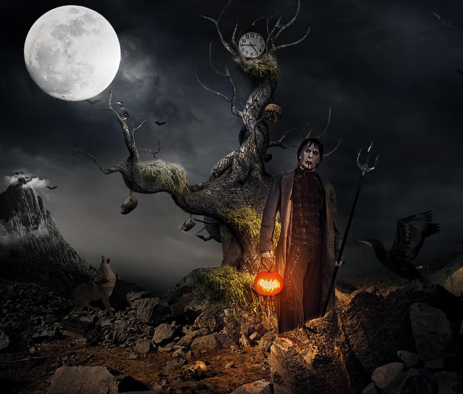 Dracula on Halloween night by gocer-art on DeviantArt