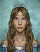 Commission: Djaiana Portrait by mckadesinsanity