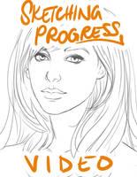Sketching Progress Video by mckadesinsanity