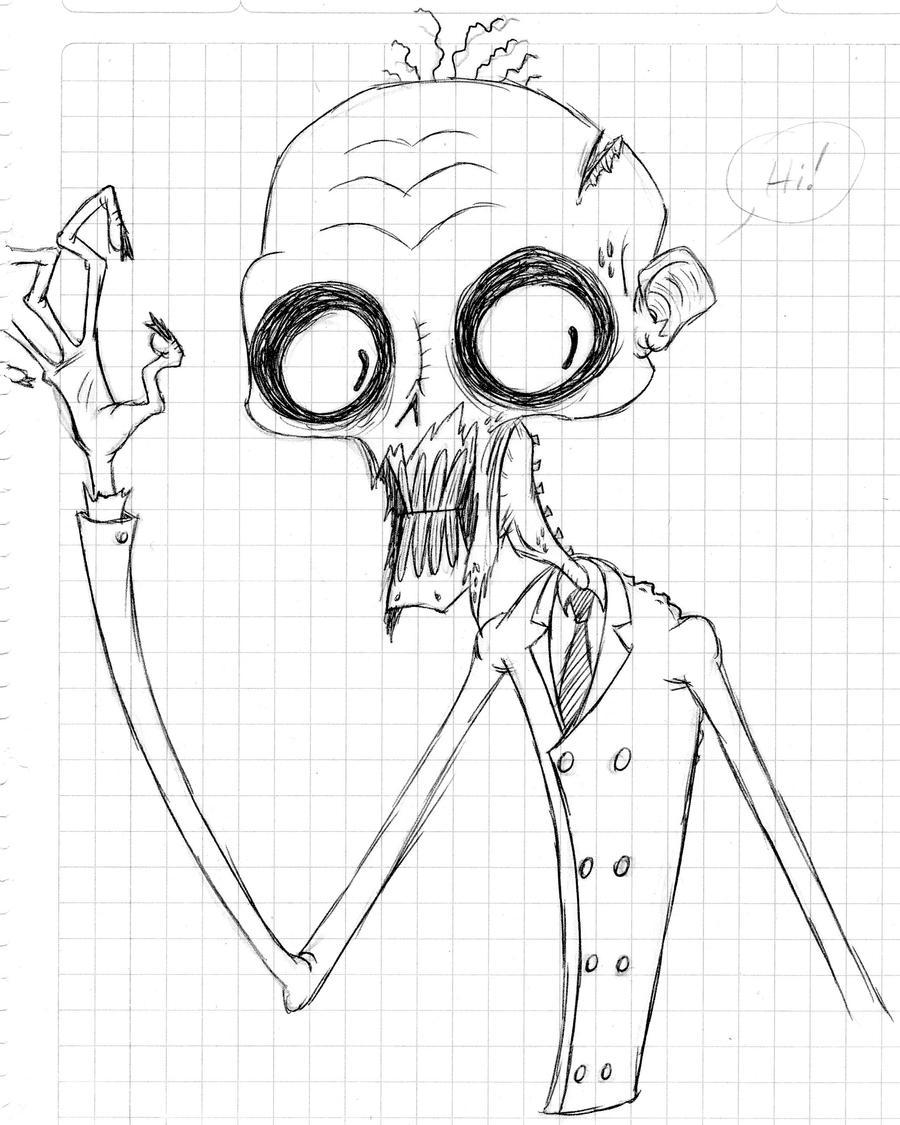 Undead sketch by drgrimhead