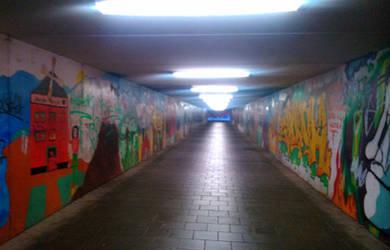 tunnel by Mittelfranke