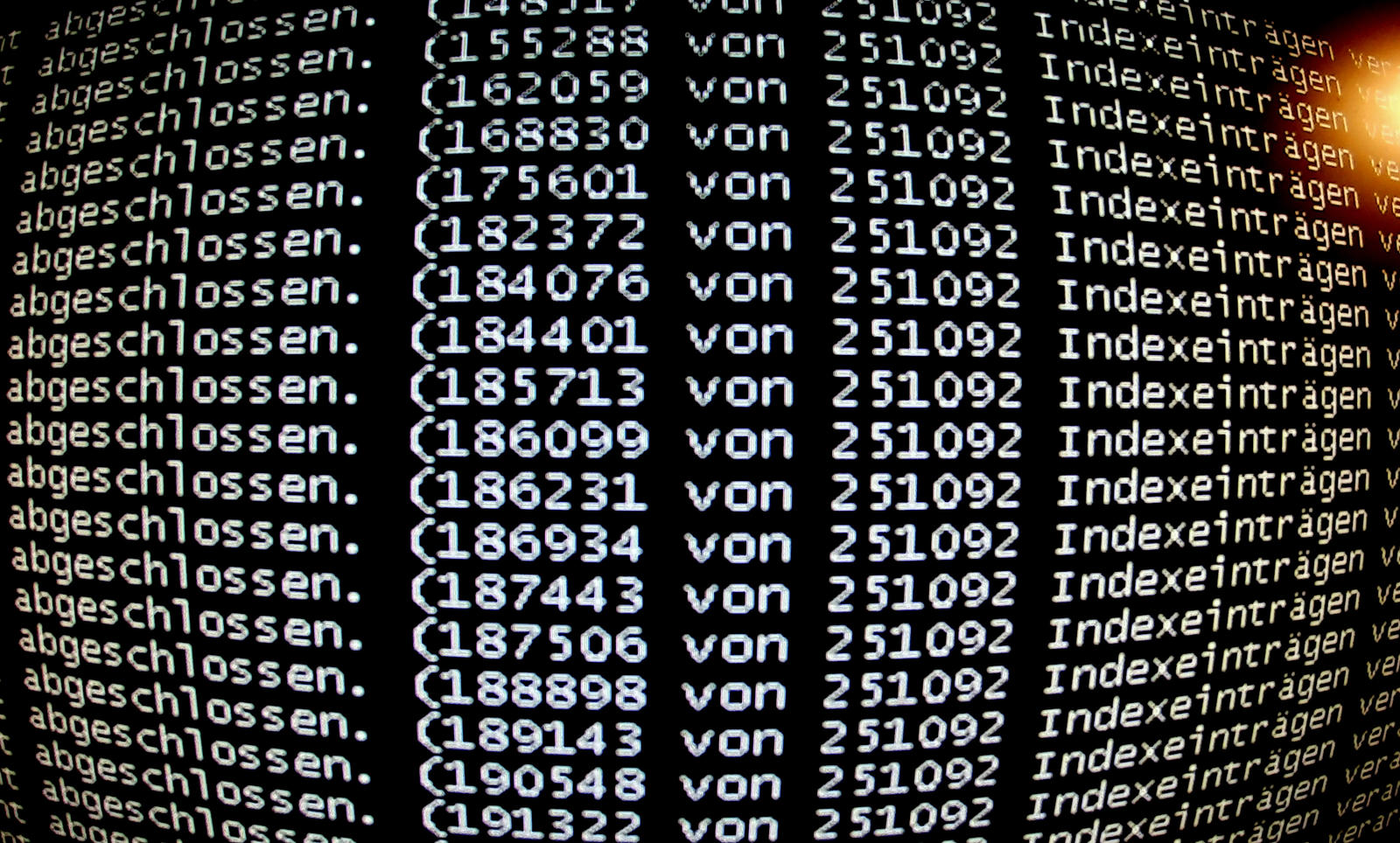 computer crash by Mittelfranke
