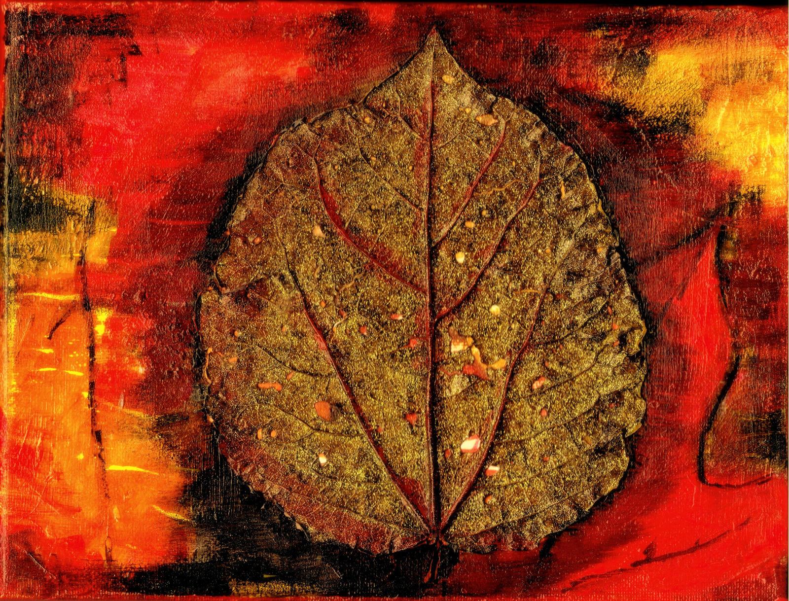 golden leaf by Mittelfranke