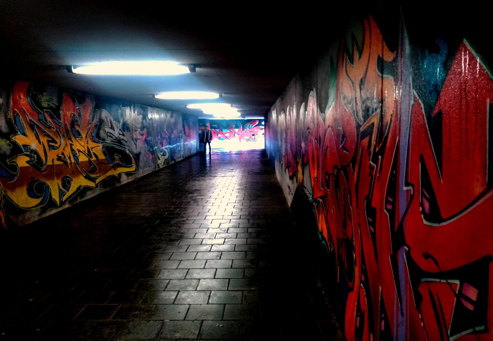 underpass by Mittelfranke