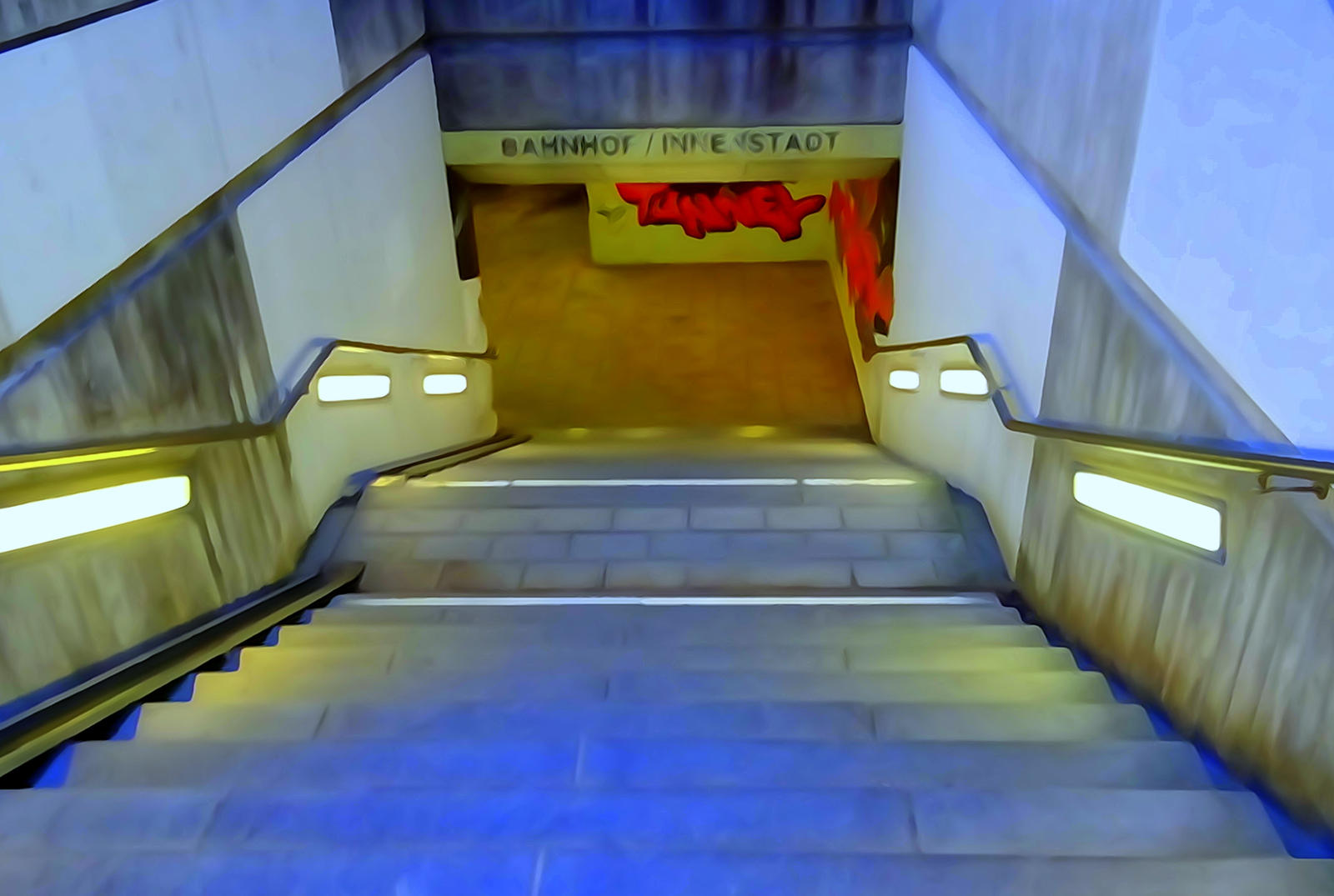 downstairs by Mittelfranke