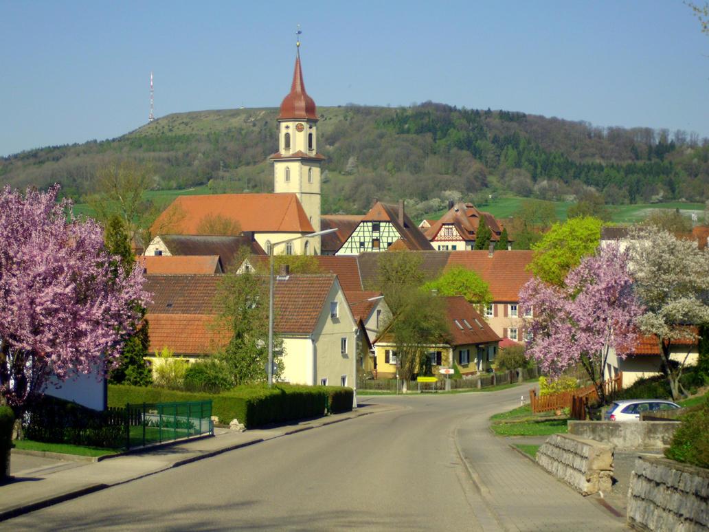 franconian village by Mittelfranke