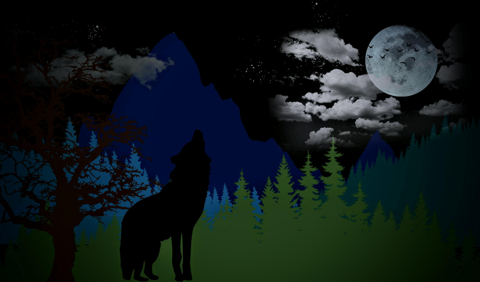 Wolfsong by Mittelfranke