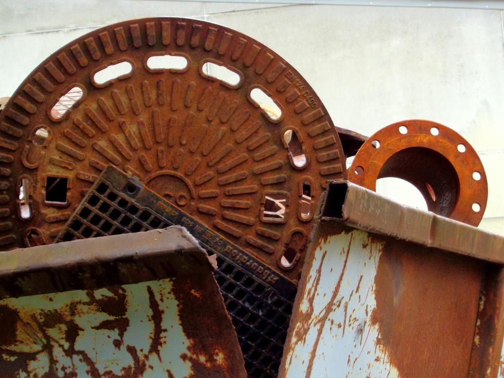 scrap metal by Mittelfranke