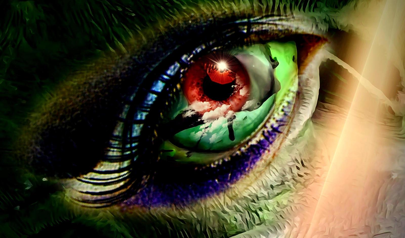 mystic eye by Mittelfranke