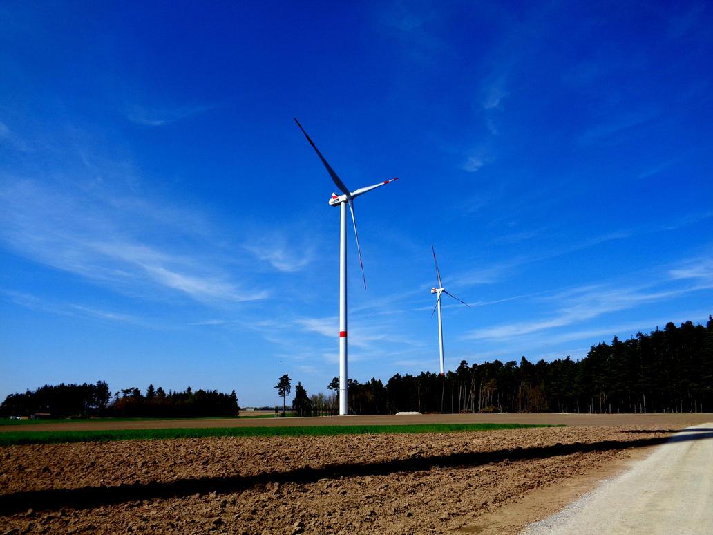 windmills by Mittelfranke