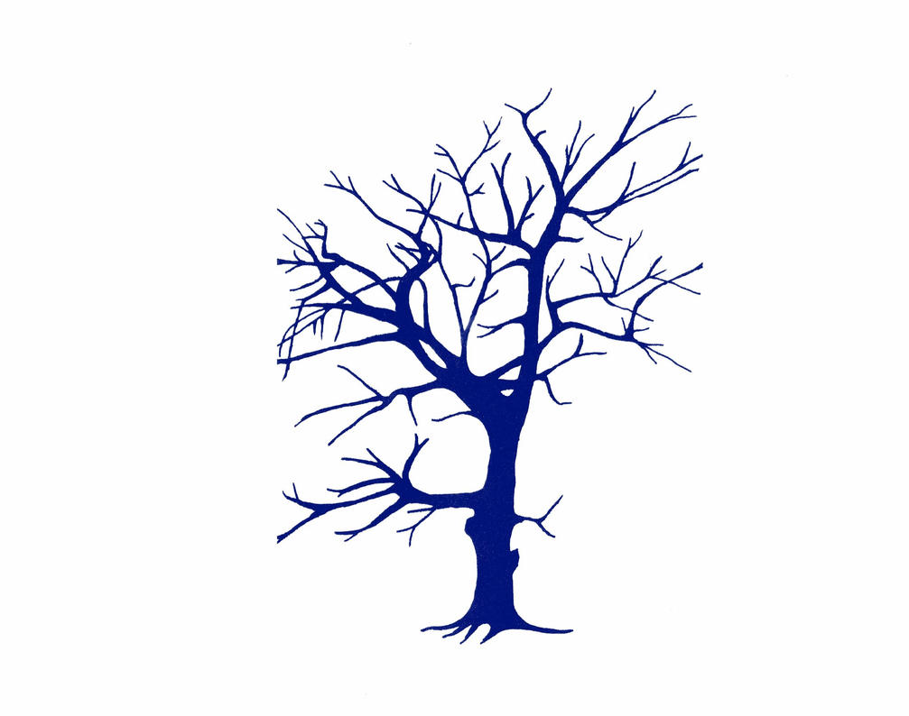 tattoo design tree by Mittelfranke