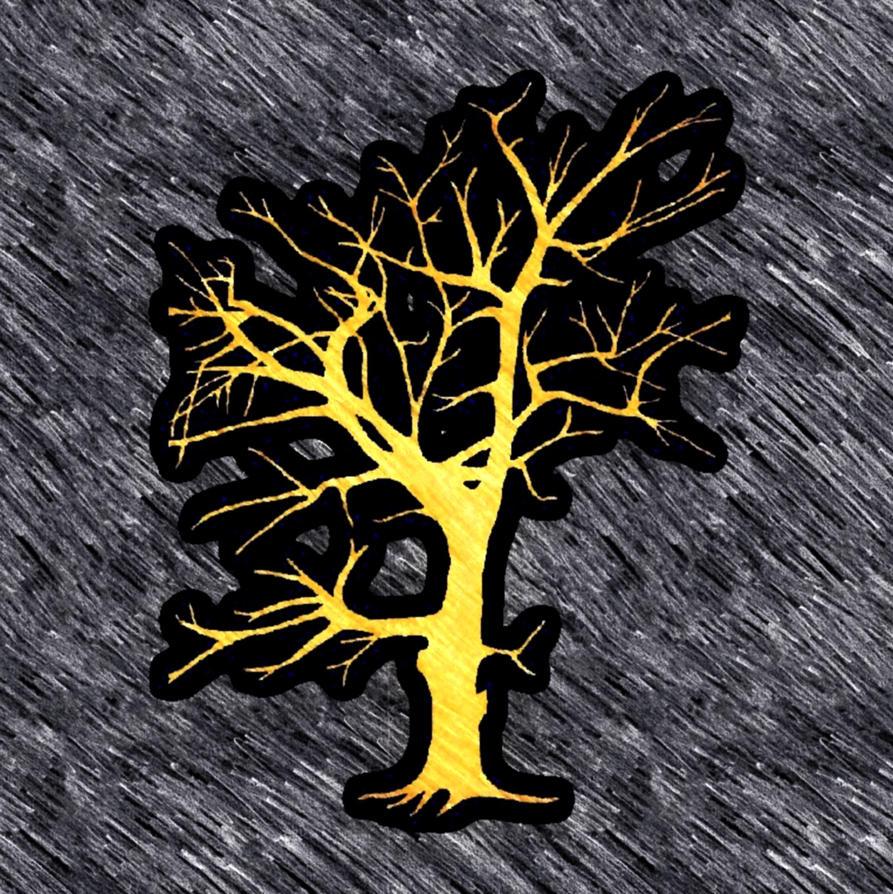 tree silhouette by Mittelfranke
