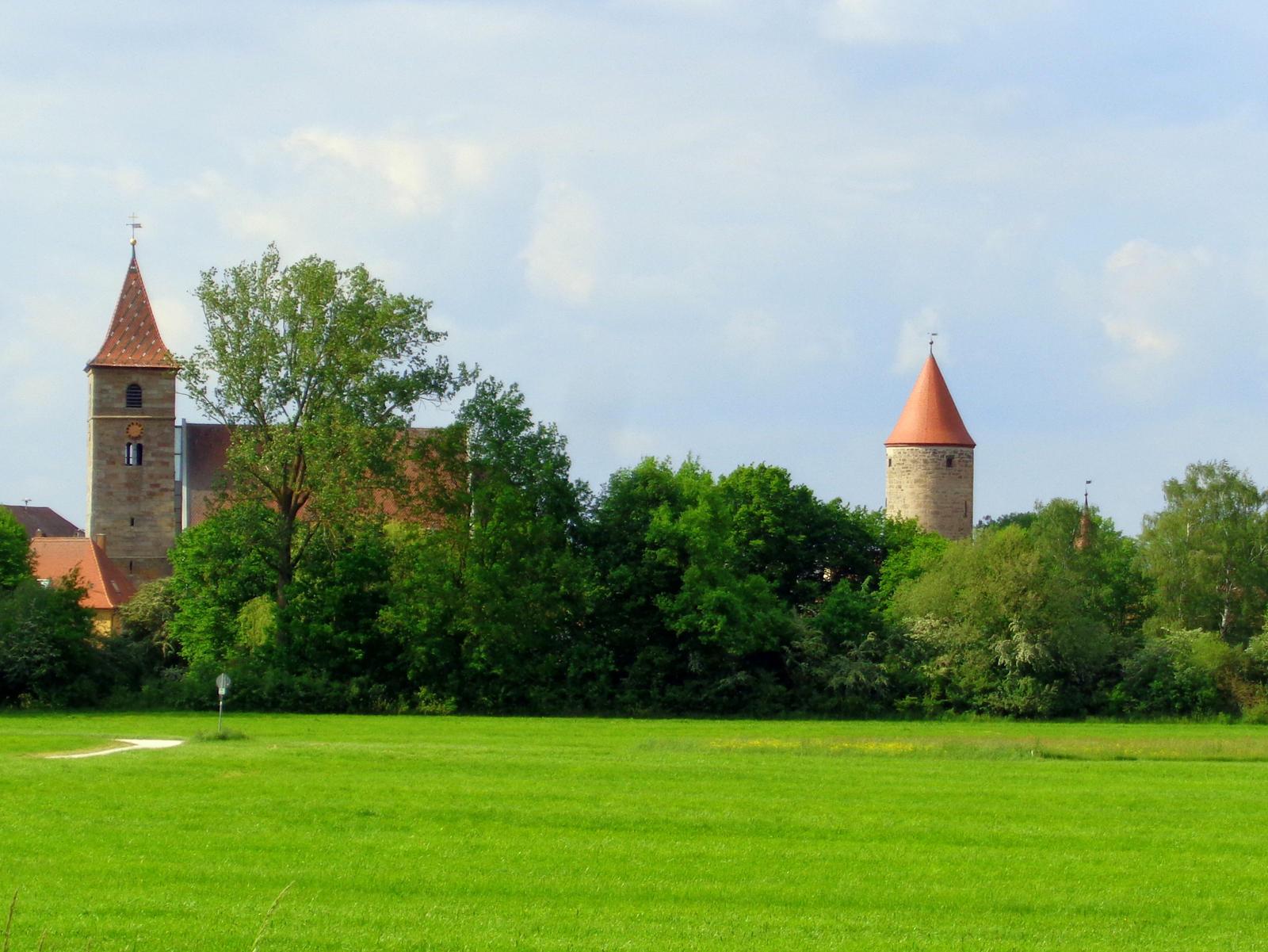 village Ornbau by Mittelfranke